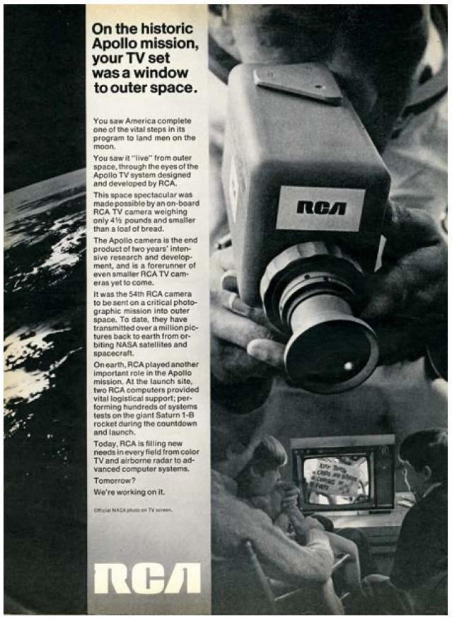 RCA camera ad