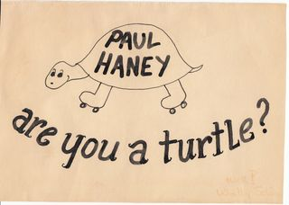 Paul Haney are you a turtle card