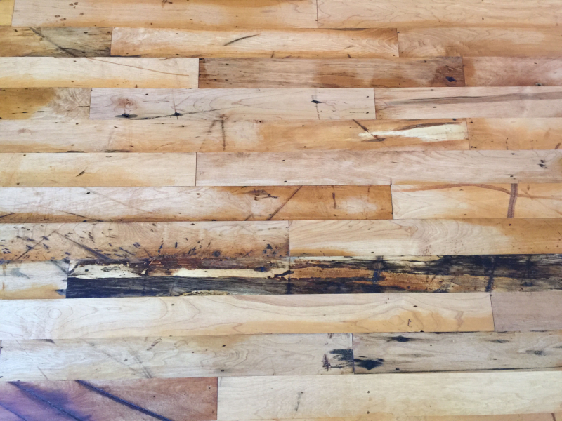 Factory floor detail